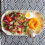 芒果油醋藜麦沙拉——简约而不简单