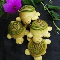 小乌龟面包#面团的发酵之旅#