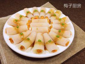 白玉鲈鱼卷