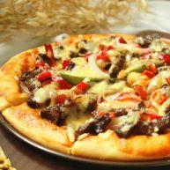 黑椒牛柳披萨