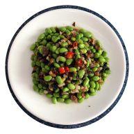 肉末雪菜炒豆子
