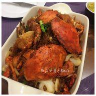 螃蟹炒冬粉