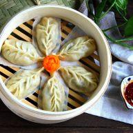 柳叶三鲜蒸饺