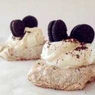 奥利奥奶油蛋白饼