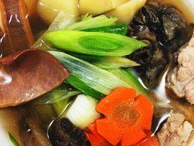 經典台灣菜 魷魚螺肉蒜湯