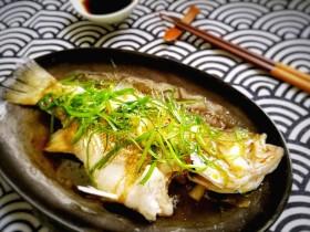 粵式清蒸鱸魚