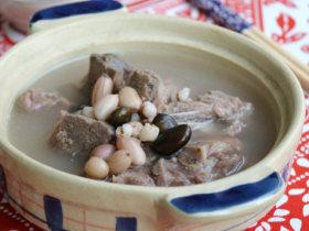 三豆排骨汤
