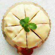 榴芒千层蛋糕