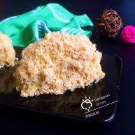 菠菜肉松小贝蛋糕