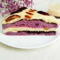 紫薯玉米千层糕