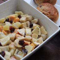 蛋黄酱,水果综合色拉