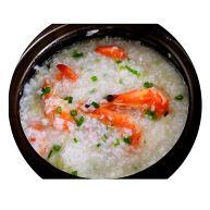砂锅粥—鲜虾粥