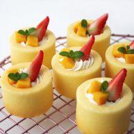 堡尔美克奶油水果杯(小嶋老师海绵蛋糕)