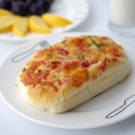 香蔥培根芝士面包(咸香味)