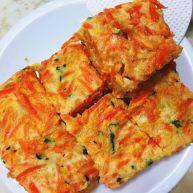紅蘿蔔蔬食蛋餅