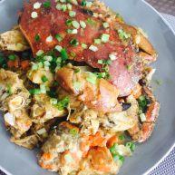 椰香咖喱面包蟹