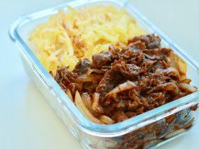 日式牛肉饭—便当好伴侣