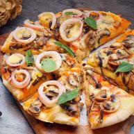 海陆双拼披萨