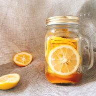 自带解暑特效的蜂蜜柠檬片