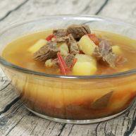 无法抵抗的诱惑——无油版番茄牛肉汤