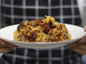 快手餐—黑椒牛肉饭