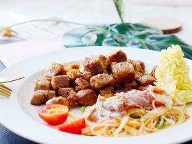 #食二星座#黑椒牛肉粒—原汁原味的美味