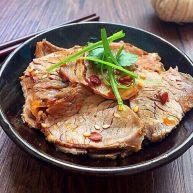 #食二星座#凉拌麻辣牛肉片