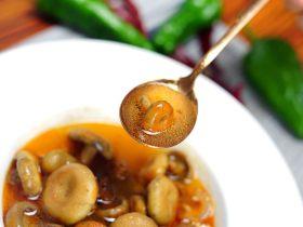 家常的鲜香味道—鲜香松菌汤