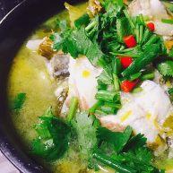 黄灯笼椒煮酸辣鱼