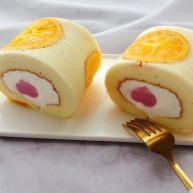 诚意满满爱心慕斯蛋糕卷——烫面法