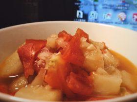 开胃番茄米豆腐