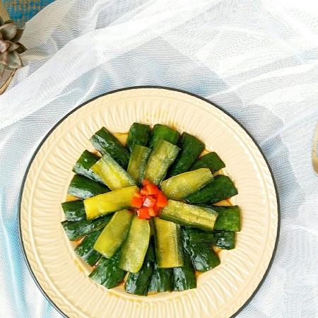 果味红椒脆皮黄瓜