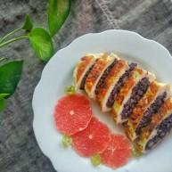 『减脂增肌』紫米鸡胸卷