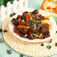 木耳炒豆腐
