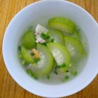 清甜节瓜汤