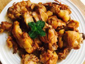 子姜麻油鸡
