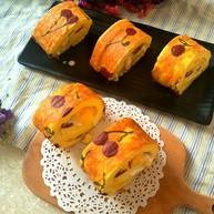#樱桃图案#纹身蛋糕卷