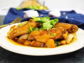 鹰嘴豆焖鸡翅