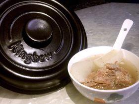 坤博砂锅之棒棒骨山药汤