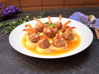 玉子凤尾虾球,谁吃谁喜欢!有小朋友的,必须试试,绝对的惊喜!