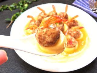 玉子凤尾虾球,嫰滑多汁,鲜甜清香