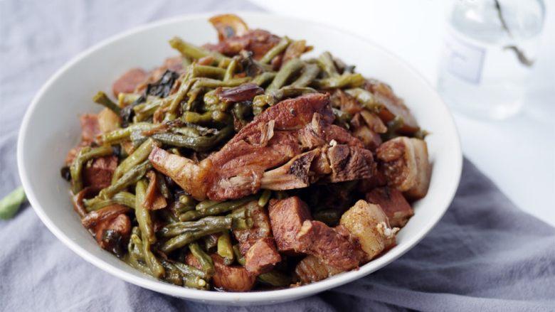 梅干菜豇豆烧肉