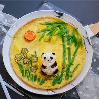 熊猫趣味早餐饼