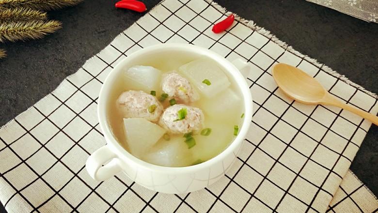 冬瓜圆子汤