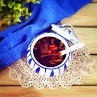 红糖枸杞老姜茶