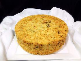 海苔芝麻肉松蛋糕