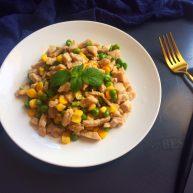 玉米豌豆肉丁