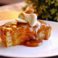 低脂苹果蛋糕搭配0⃣️奶油焦糖酱 (食物替换系列2)
