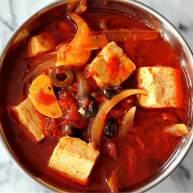 辣味烤红椒烩豆腐