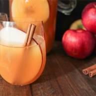 波旁調味蘋果酒